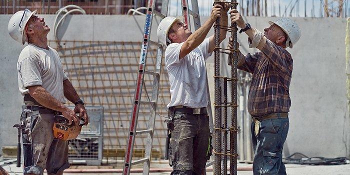 Rösch Unternehmensberatung Bauarbeiter Baustelle