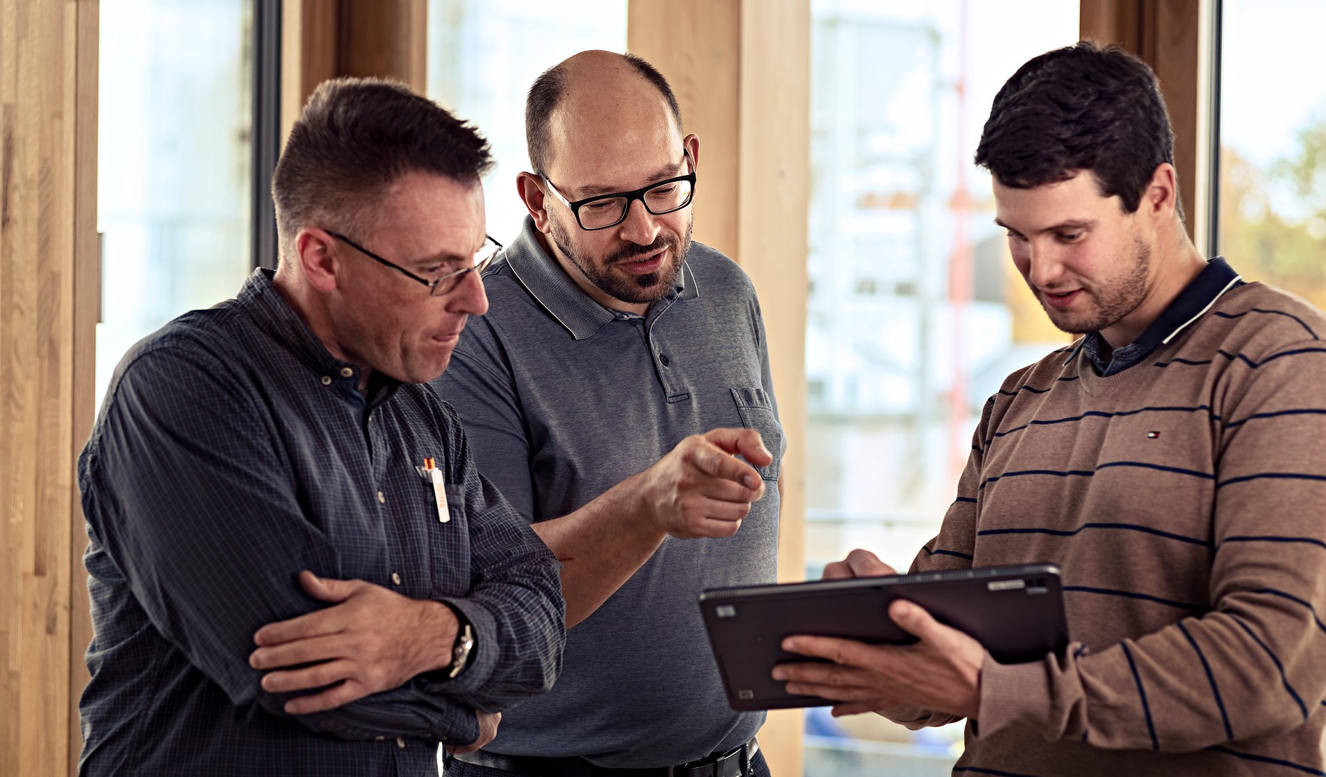Miteinander Reden ist die Methode in agilen Projektteams.